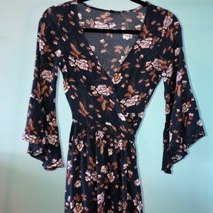 American Eagle Flower Dress- Size X Small